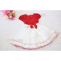 Vestido Infantil Rosa Mod Luxo Tema Festa Realeza Princesas