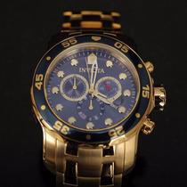 Reloj Invicta Pro Diver 0073 Cronógrafo Oro 18k Original