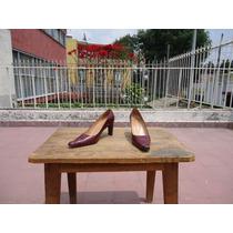 Zapato Dama Regina Romero Vino