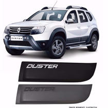 Kit Friso Lateral Renault Duster Original Largo Preto