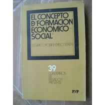 Concepto De Formacion Economico Social. C. Luporini $179 Dhl