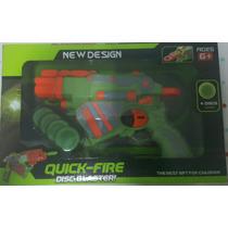 Pistola Lanza Disco De Juguete Quick-fire