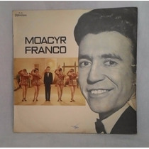 Disco De Vinil / Lp Moacyr Franco Álbum Doce Amargura 1970