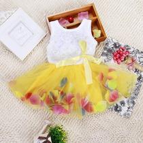 Vestidos Niña Falda Tul Tutu Tallas 1 2 3
