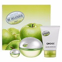 Set Estuche De Perfume Dkny Be Delicious 100% Original