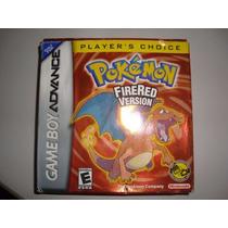 Pokemon Firered Completa Original Americana Mais 240 Pokedex