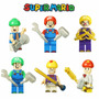 Figura Lego Super Mario Juguete Sorpresa Fiesta Cumpleaño