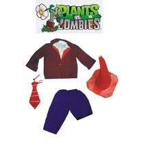 Disfraz Zombie Plantas Vs Zombies A Medida Artesanal