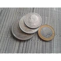 Lote 3 Moedas Prata Alemanha 5, 3 & 2 Reichsmark Otto Raro