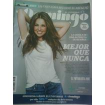 Revista Domingo: Portada Y Reportaje De Thalia