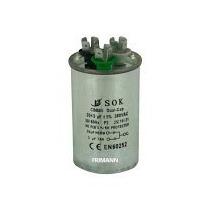 Capacitor Duplo 20+3 Mfd 380vac Para Ar Condicionado Split