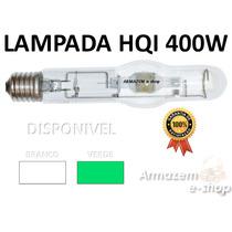 Lampada Vapor Metalica Hqi 400w Verde