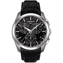 Relógio Tissot Couturier Couro Original, Com Garantia 1 Ano