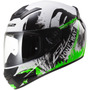 Casco Moto Integral Ls2 Ff352 Rookie One Ngo/vde Talla M