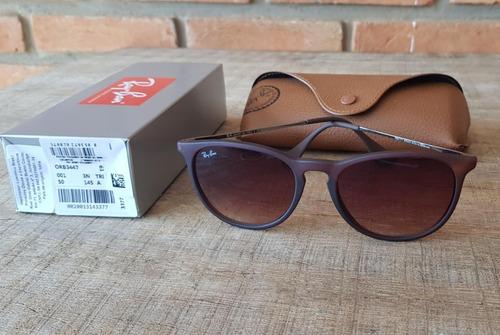 Óculos Ray Ban Erika Rb4171 Marrom Degrade Black Friday - R  350,00 em  Mercado Livre 99b62871d1