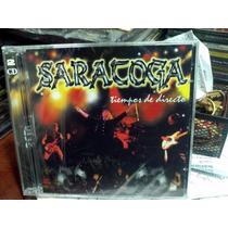 Saratoga Tiempos De Directo Cd Doble En Vivo Avispa 2000