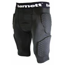 Short Barnett C/ Almohadillas De Proteccion Futbol Americano