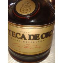 Botellas Vacias De Brandy Azteca De Oro