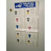 Vintage Blister Tarjeta Para Toda Ocasión Footbol Pumas