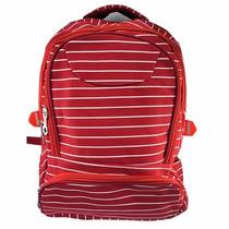 Mochila Bolsa Feminina Promoção Escolar Faculdade Vermelha