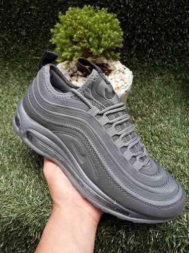 2596cfcbbb4f0 Tenis Zapatillas Nike Air Max 97 Gris Hombre Indicy Envío Gr -   169.900 en  Mercado Libre