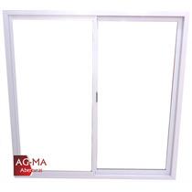Aberturas Ventana Aluminio Vidrio Entero 1,50 X 1,50 Agma