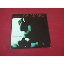 Andres Calamaro - Single Te Quiero Igual - Ind Arg