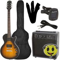 Guitarra Epiphone Les Paul Special Kit Completo Kadu Som