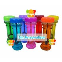 60 Burbujas De Jabón Colores Variados Fiesta Regalo