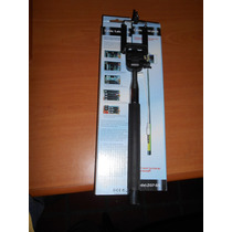 Monopod Selfies Stick Con Cable Iphone Samsung Gopro Android