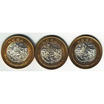 50 Nuevos Pesos Moneda Coleccion Completa 1993 1994 1995 Op4