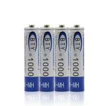 Pila Bateria Aaa Recargable 1000 Mah Telefono Juguetes