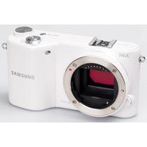 Camera Digital Samsung Nx2000 20.3mp Branca Wi-fi Tela Touch