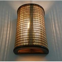 Arandela Luminária De Parede Rustico Sala Artesanal