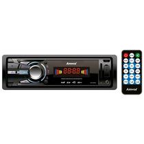 Rádio Amvox - Fm, Mp3, Usb, Aux E Sd E Display Led