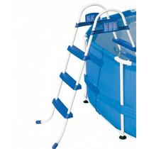 Escada P/ Piscina Inflável Bel Life 3 Degraus Premium 91 Cm