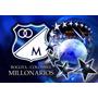 Placa Poster Decorativo Metal #22 30x20cm Escudo Millonarios