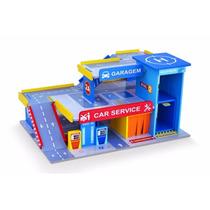 Car Service Com Posto E Garagem Ideal Hot Wheels