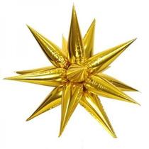 Balão Metalizado Ponta Gotas Dourado ( 1 Gota ) São Necessár