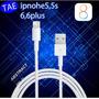 Cabo Dados Usb Original Apple Iphone 5 5s 6 6plus Ipad Ipod