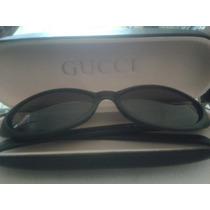 Lentes Gucci Gg 1187/5 Negro Opaco Originales Con Estuche