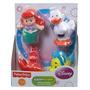 Fisher-price Little People Disney Ariel Y Sus Amigos Disney