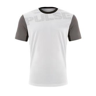 026f5997b Camiseta Pulse Grupo Everlast Branca Detalhe Cinza - R  34