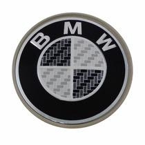 Calotinha Centro De Roda Bmw 65mm Emblema Preto