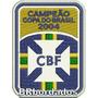 Tpc173 Campeão Copa Do Brasil 2004 Patch Bordado 6,4x8,5 Cm