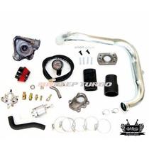 Kit Turbo Corsa Ou Celta Com Flange E Turbina T2