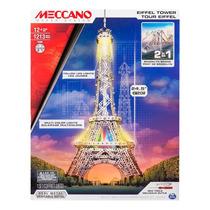 Meccano Torre Eifel & Puente De Brooklin 2 En 1 Nuevo Sellad