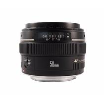 Lente Ef 50mm F/ 1.4 Usm Garantia 1 Ano Canon