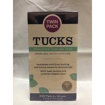Tucks Medicado Hemorroides Pad-200 De Refrigeración De Recue