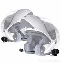 Kit De Intercomunicadores Para Moto - Tipo Scala Rider